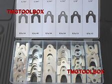 144 PC AUTO BODY & ALIGNMENT SHIMS ASSORTMENT AUTOMOBILE FRONT &REAR SUSPENSION
