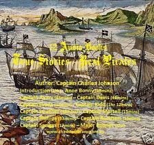 CD - Real Pirates - True Stories - 12 mp3 Audio Books