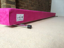 LIMITED EDITION finest quality gymnastics gym balance beam 8FT long HOT PINK 3