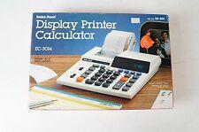 Radio Shack mesa ordenador ec-3014 calculadora presión Printer Machine a calculer 120v