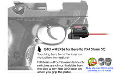 ArmaLaser GTO Beretta PX4 Storm Sub Compact Red Laser Sight w/ FLX36 Touch Grip