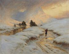 Farquharson Joseph Homeward Bound Canvas 16 x 20  #3262