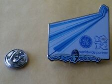 LONDON 2012 Olympic GE (General Electric) SWIMMING sponsor rare pin
