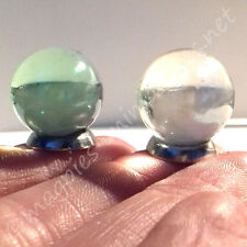 Dolls House 12th scale Crystal Ball. Gypsy / Fortune Teller / Witch / Halloween