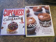 Lot of 2 cookbooks - Babycakes by McKenna and Cake Doctor by Brynn  - FOLLOT