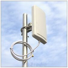 12dBi 2.4G Wlan WIFI Wireless Directional Panel Antenna RP-SMA RLKP-2400-D12L60
