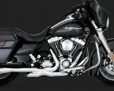 VANCE & HINES HARLEY TOURING POWER DUALS CHROME HEAD PIPE 2009 09 TOURING 16832