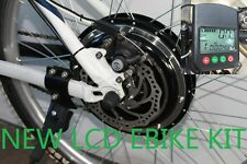 48V 500W REAR E BIKE DISC CONVERSION BRUSHLESS MOTORS KITS PAS LCD CYCLE 9 WEEKS