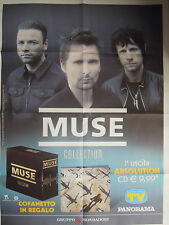 """MUSE - PROMO POSTER """"MUSE COLLECTION"""", 2016. ITALY. RARE*****"""