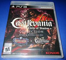Castlevania Lords Of Shadow Collection Sony PS3  Factory Sealed!! Free Shipping!