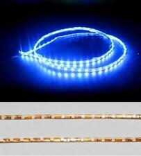 1x Blue 90leds 90cm 3528 SMD Car Slim LED PVC Seal Waterproof Strip Light Bright