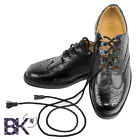 "Mens Scottish Leather Ghillie Brogues, kilt shoes sizes 7"" - 12"" + Kilt Socks"