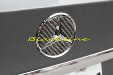For 03~09 Mercedes W211 E Class E280 E550 Carbon Fiber Trunk Emblem Logo Decal
