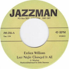 Esther Williams - Last night changed it all / Tommie Young Hit and Run Lover 7""