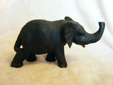 HAND CRAFTED WOODEN ELEPHANT IN KENYA
