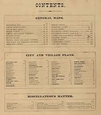 1872 NEW JERSEY STATE ATLAS map old GENEALOGY GHOST TOWNS TREASURE DVD S12