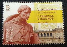 2017 V CENTENARY OF THE CARDENAL CISNEROS DEATH MNH ** SPAIN STAMPS  TP20215