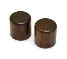 WBRK-R (2) Rosewood Barrel Knobs for Guitar/Bass for 6mm Split Shaft