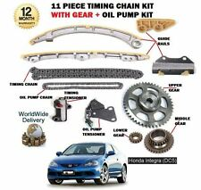 FOR HONDA INTEGRA K20A3 160BHP DC5 2002-  TIMING CHAIN + GEARS + OIL PUMP KIT