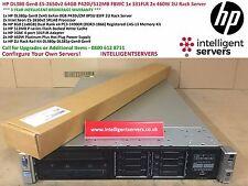 HP DL380p Gen8 E5-2650v2 64GB P420i/512MB FBWC 331FLR 1x 2x 460W Server Rack 2U