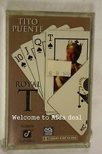 Royal-T by Tito Puente (1993) (Audio Cassette Sealed)label:Concord Records
