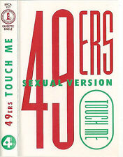 49ers Touch Me (Sexual Version) CASSETTE SINGLE Electronic Italo House BRCA157