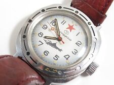 VINTAGE VOSTOK RUSSIAN SOVIET SUBMARINE AUTOMATIC? WIND WRIST WATCH OFFICERS?