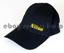 Nikon Authentic Baseball Cap Hat Black D4 D4SD810 D750 D610 Body New Great Gift