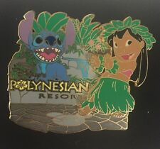 LILO & STITCH at the POLYNESIAN RESORT 2006 HIDDEN DISNEY COLLECTION LE PIN