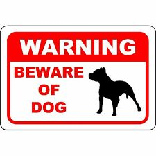 "Beware of Dog - Keep Out - German Shepard Aluminum Sign 12"" x 8"""