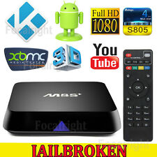 M8S+ Plus KODI XBMC Fully Loaded Quad Core Android 4.4 Smart TV Box Media Player