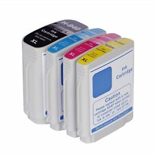 4 NON-OEM 940XL INK CARTRIDGES HP OFFICEJET PRO 8000 8500 8500A HP940 W CHIP