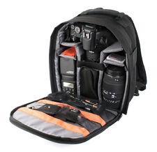 Sac à dos noir pour appareil photo numérique Reflex Ricoh Pentax K-500, K-50