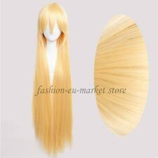 Fashion Womens Wig Cosplay Full Wigs Fancy Dress Massive Hair Dark Medium Brown