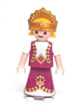 Playmobil Figure Princess Castle Girl Child w/ Magenta Dress Crown 4330