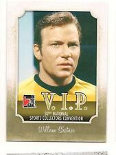 William Shatner 2011 In The Game NationalConvention VIP