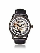 Stuhrling Original 393 33551 Men's Winchester Skeleton Date Black Watch