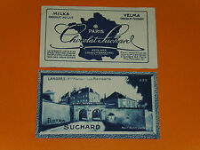 CHROMO PHOTO CHOCOLAT SUCHARD 1928 FRANCE LANGRES REMPARTS HAUTE MARNE