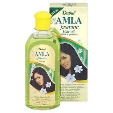 Dabur Amla Jasmin / CHAMELI CAPELLI petrolio per lungo tempo forti LUCIDA LISCIA CAPELLI 200ml