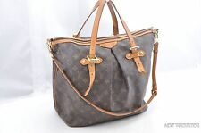 Auth Louis Vuitton Monogram Palermo GM Shoulder Tote Bag M40146 LV 29050
