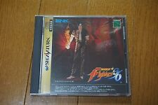 The King of Fighters '96 Sega Saturn Japanese TESTED! RARE!