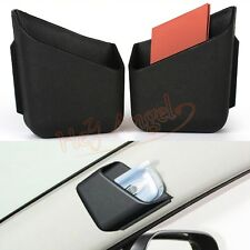 2x Black Universal Car Auto Accessories Phone Organizer Storage Bag Box Holder