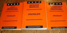 2000 Plymouth Prowler Service Shop Manual Transmission Body 3 Book Set 00