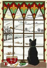 Anchor - Long Stitch Kit - Winter Through The Window - AL78467