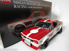 MEGA RARE 1/18 KYOSHO NISSAN SKYLINE 2000GT-R KPGC10 CATALOGUE VERSION