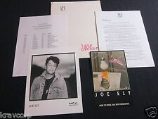 JOE ELY 'HOW TO MAKE JAIL HOT CHOCOLATE' 1993 PRESS KIT—PHOTO