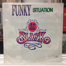 """SEALED 12""""~AC BLACK~Funky Situation~[Extended Vers]~I'm Just A Man~[1989 MOTOWN]"""