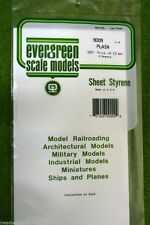 "EVERGREEN SHEET STYRENE White Plasticard .005""  #9009"