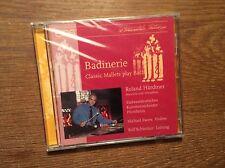 Badinerie - Classic Mallets Play Bach [CD Album] NEU Härdtner Marimba Vibraphon