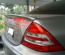 Unpainted MERCEDES BENZ 01-07 W203 C class Sedan AMG type trunk spoiler ◎
